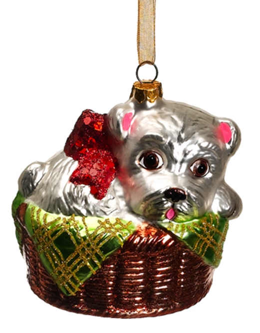 scottish terrier christmas ornament my